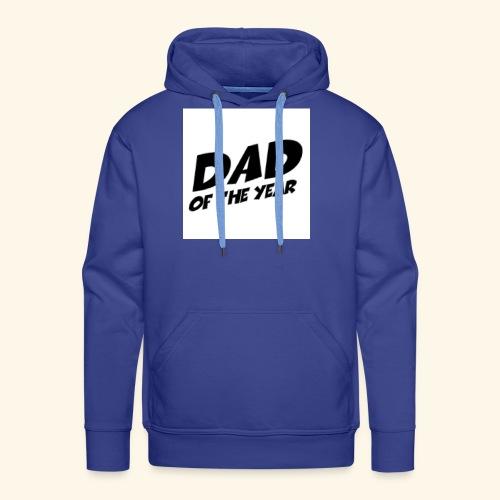 Årets pappa - Premium hettegenser for menn