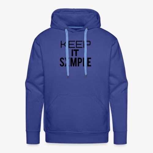 KEEP IT SXMPLE - Männer Premium Hoodie