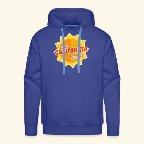 California Spirit Radioshow - Sweat-shirt à capuche Premium pour hommes