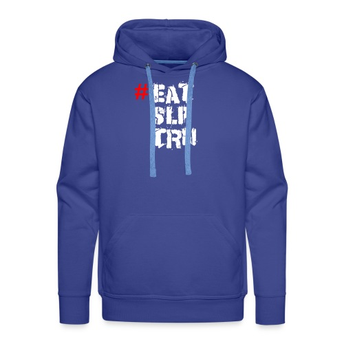 Eat Sleep Train - Männer Premium Hoodie