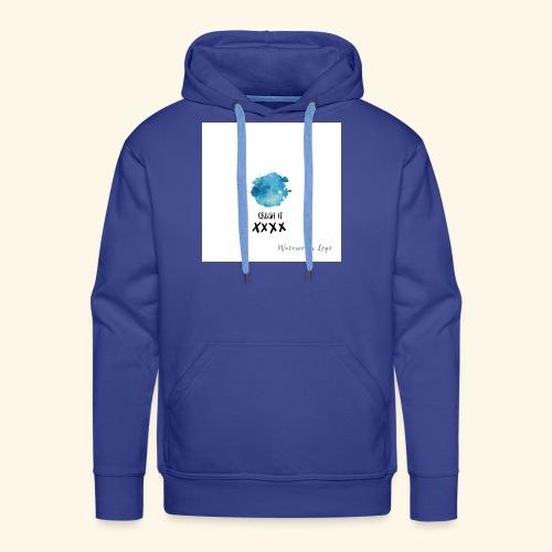 crush it - Mannen Premium hoodie