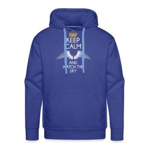 Keep Calm - Bluza męska Premium z kapturem