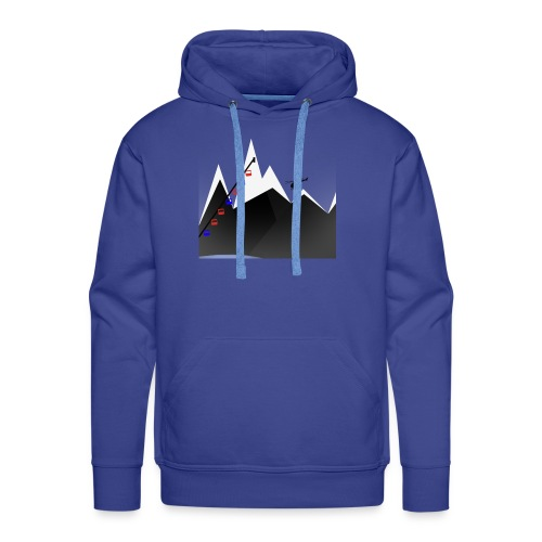 MOUNTAINS | WINTER KOLLEKTION - Männer Premium Hoodie