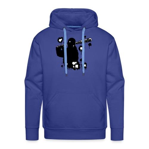 Negan black - Sweat-shirt à capuche Premium pour hommes
