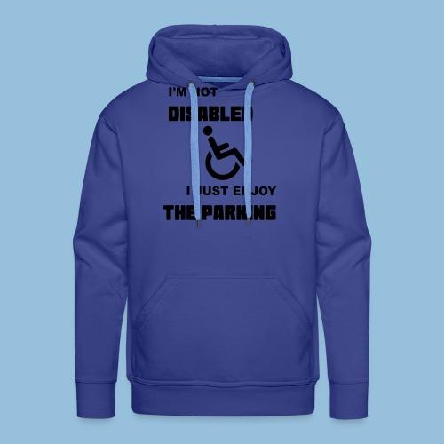 notdisabled1 - Mannen Premium hoodie