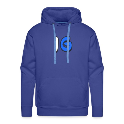 Offical Second Coloured Design No Background - Men's Premium Hoodie