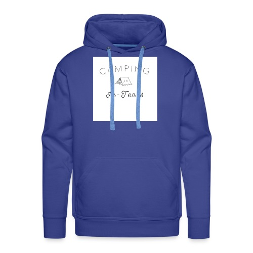 camping is in-tents - Men's Premium Hoodie