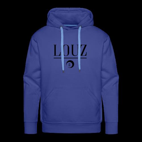 louzwithlogo - Männer Premium Hoodie