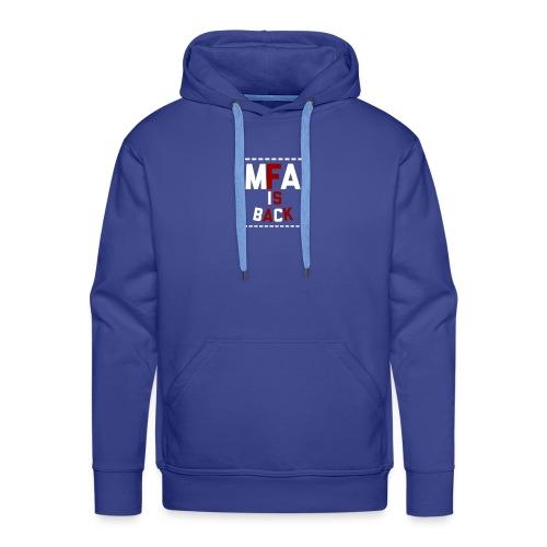 IS BACK - Sweat-shirt à capuche Premium pour hommes