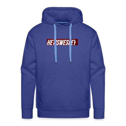 HetIsWesley Name - Mannen Premium hoodie