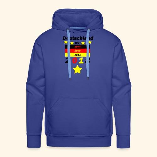 Deutschland 5 Sterne - Männer Premium Hoodie