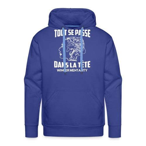 T-shirt motivation - Sweat-shirt à capuche Premium pour hommes