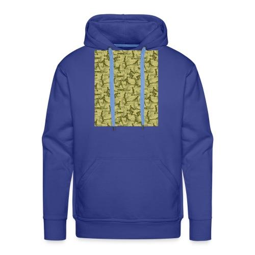 Camouflage Kamasutra Love - Männer Premium Hoodie