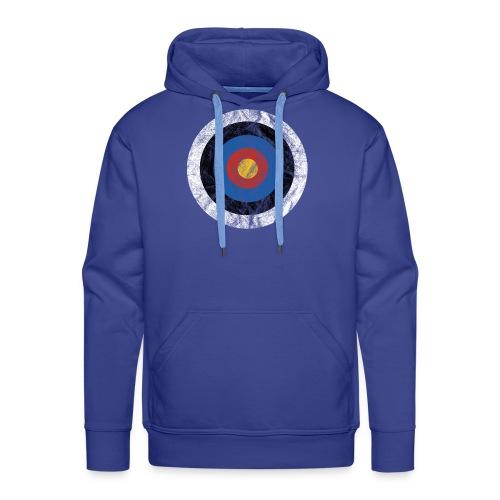 T-Shirt Bullseye Ziel Pfeil Bogen Archery Dart - Männer Premium Hoodie