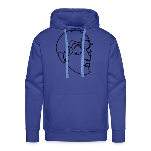 Corrine Rose dans ta face OK - Sweat-shirt à capuche Premium pour hommes