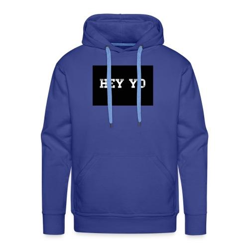 Hey yo - Sweat-shirt à capuche Premium pour hommes