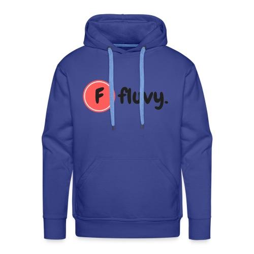 Fluvy Basic - Sweat-shirt à capuche Premium pour hommes