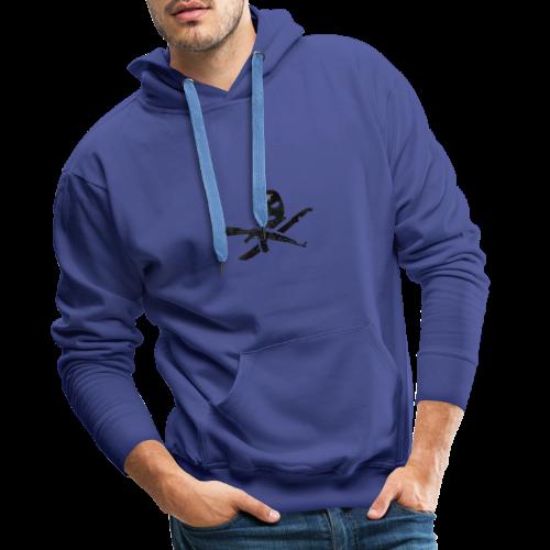 Hoolie Black - Mannen Premium hoodie