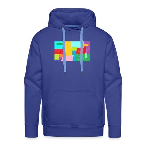 farbefrohe kunst - Männer Premium Hoodie