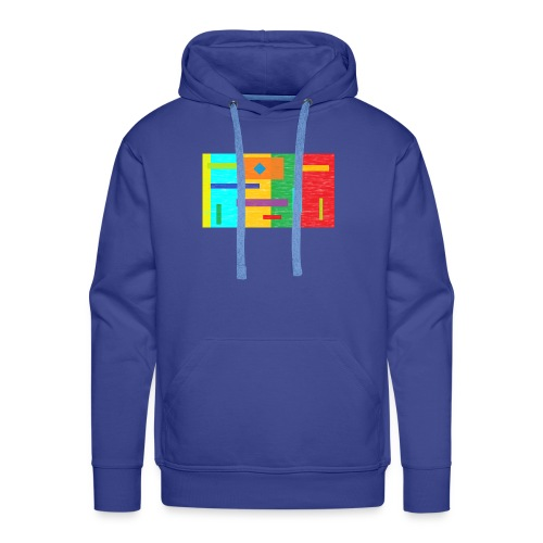 colours abstract - Männer Premium Hoodie