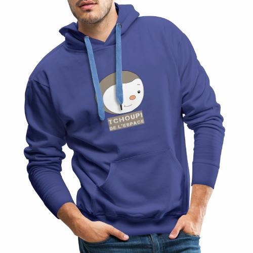 Tchoupi de l'Espace ! - Sweat-shirt à capuche Premium pour hommes