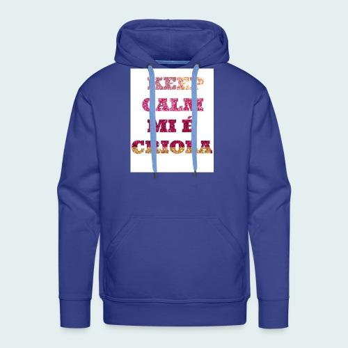 KEEP-CALM-MI-E-KRIOLA - Men's Premium Hoodie