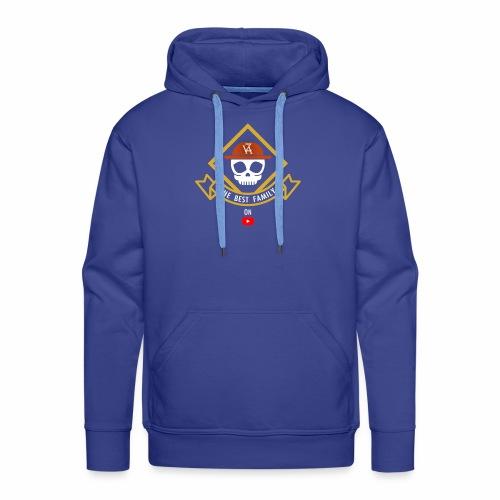 The Best Pirate family - Sweat-shirt à capuche Premium pour hommes