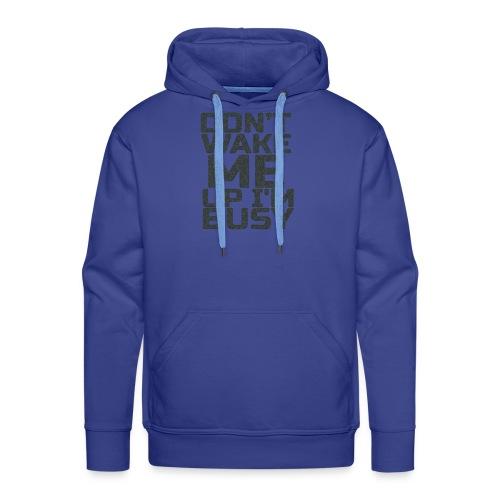 t-shirt for hard working. - Sweat-shirt à capuche Premium pour hommes