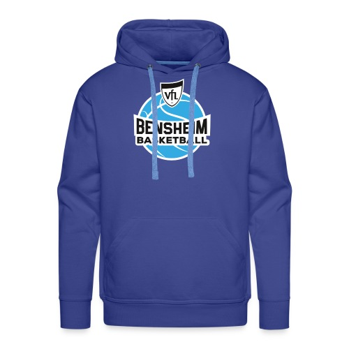 Logo VfL Bensheim Basketball - Männer Premium Hoodie