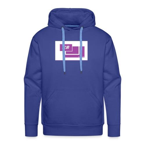 thoughtful mom gay design box logo - Miesten premium-huppari