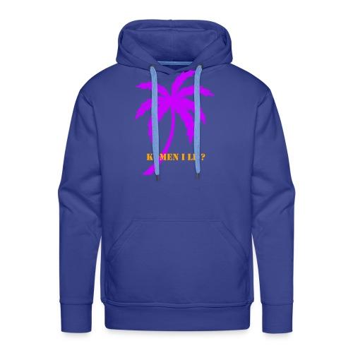 palmier - Sweat-shirt à capuche Premium pour hommes