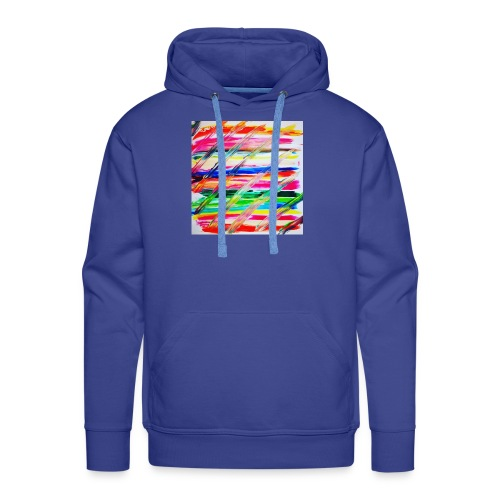 Rainbow Cross - Sweat-shirt à capuche Premium pour hommes