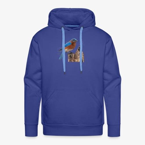 Oiseau Bleu D'été - Sweat-shirt à capuche Premium pour hommes