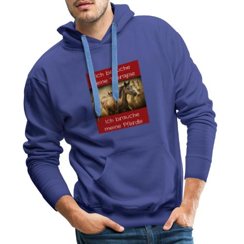 Pferde Tierfreunde, Geschenke, M50, s.unten - Männer Premium Hoodie