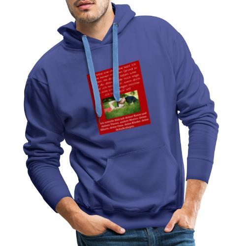 1 T-Shirt Geschenk, Geschenkidee, ändern s. unten - Männer Premium Hoodie