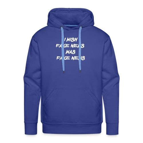fake news - Mannen Premium hoodie