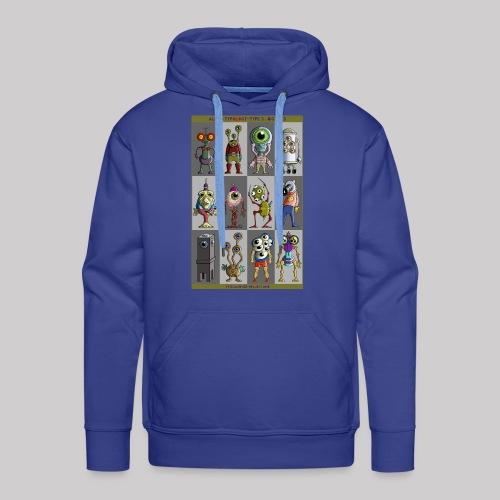 ALIEN TYPOLOGY TYPE 3: BIGEYES - Sweat-shirt à capuche Premium pour hommes