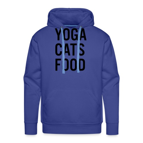 YOGA CATS FOOD LADIES ORGANIC T-SHIRT - Premiumluvtröja herr