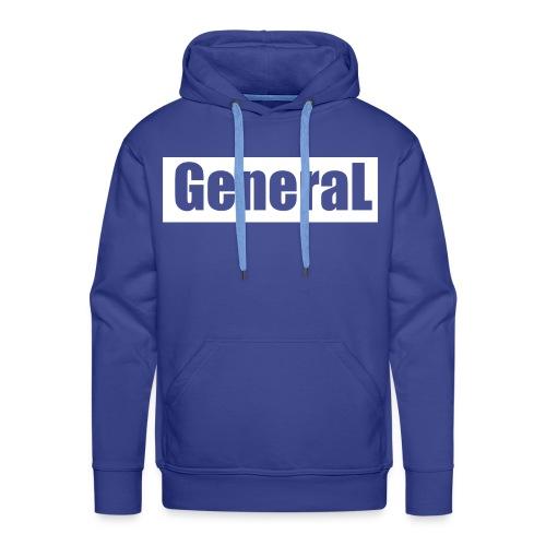 General - Sweat-shirt à capuche Premium pour hommes