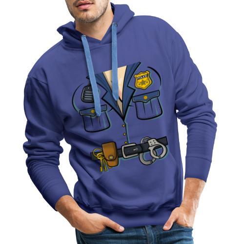 Polizistin Kostuem - Männer Premium Hoodie