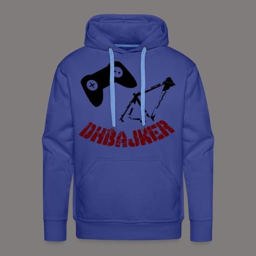 dhbajker logo - Männer Premium Hoodie