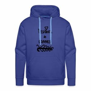 Festival de...cannes ! - Sweat-shirt à capuche Premium pour hommes