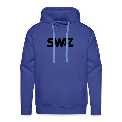 swaz-icon-black - Men's Premium Hoodie