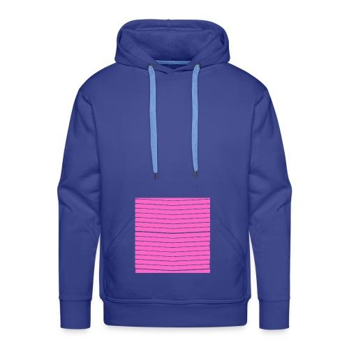 LARGE PINK ARROWS - Sweat-shirt à capuche Premium pour hommes