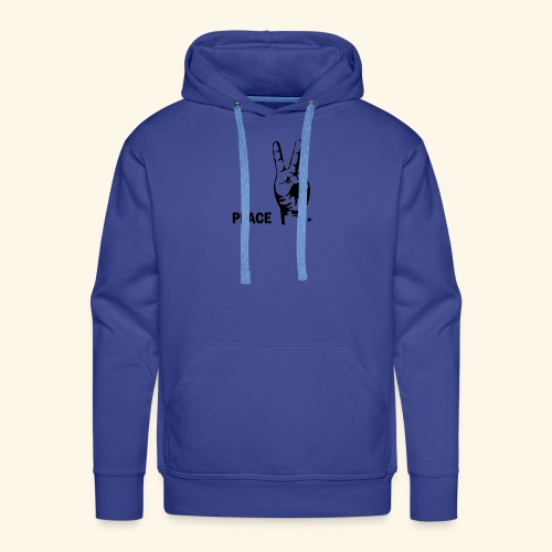 peace - Sweat-shirt à capuche Premium pour hommes