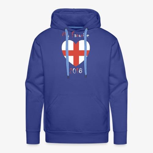 Mein Favorit T-Shirt England - Männer Premium Hoodie