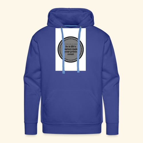 So is life s journey - Men's Premium Hoodie