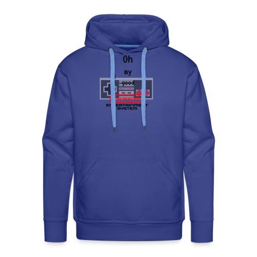 oh my good nes - Sweat-shirt à capuche Premium pour hommes