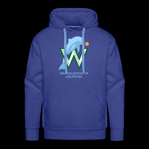 Dolphins Logo - Männer Premium Hoodie