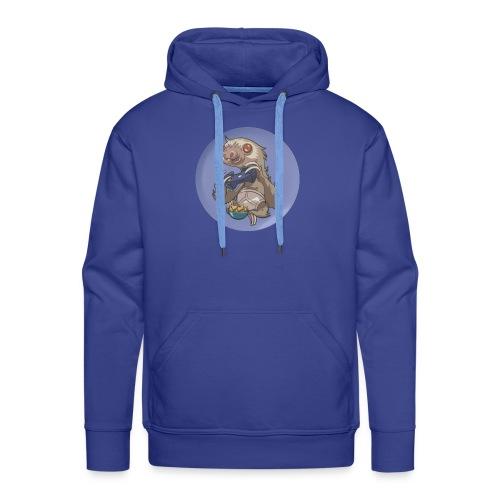 SlothGamer Channel Logo - Men's Premium Hoodie